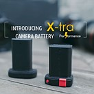 X-tra promises a fresh take on the conventional camera battery with its innovative offering