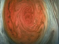 NASA releases incredible close-ups of Jupiter's 'Great Red Spot'