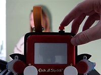 The Etch-A-Snap is (probably) the world's first Etch-A-Sketch camera