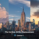 Skylum's impending Luminar 4 update will feature AI-powered sky replacement filters