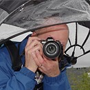 Keep your camera dry and look like a dork with this $60 hands-free umbrella (or not)