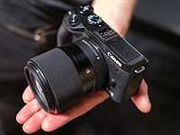 Sigma shows EF-M mount primes for Canon cameras at WPPI