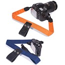 Camera Lift-Strap eases camera weight by clipping to a backpack handle