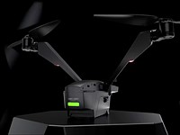The V-Coptr Falcon is a bi-copter drone that has a 50-minute battery life