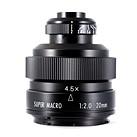 New 20mm F2 4.5x macro lens released by Mitakon