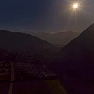 Incredible total solar eclipse hyperlapse captured from a drone