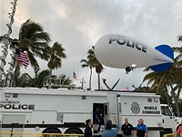 Miami Beach police use camera blimp to get around drone surveillance ban