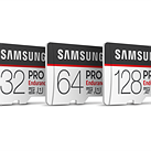 Samsung's PRO Endurance microSD cards can handle 43,800 hours of continuous recording
