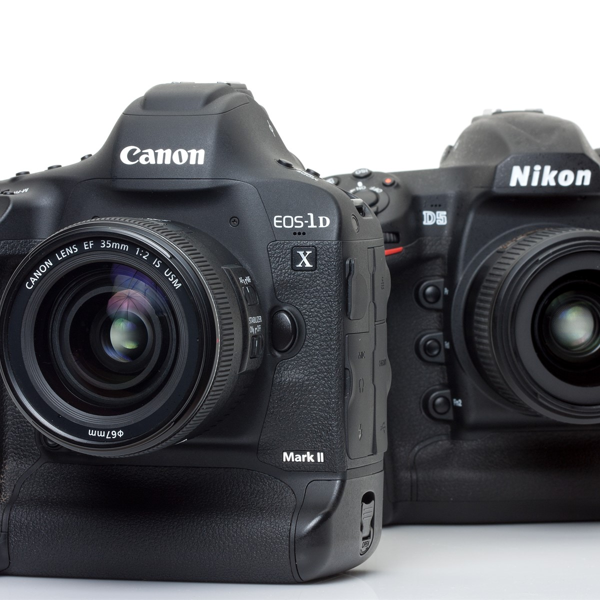 Flagships compared: Canon EOS-1D X Mark II versus Nikon D5: Digital Photography Review