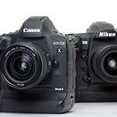 Flagships compared: Canon EOS-1D X Mark II versus Nikon D5