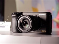 Sharp reveals 8K Micro Four Thirds camera prototype at CES 2019