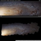 Dust on the lens or a new planet? NASA reveals some of its inter-galactic Photoshop tricks