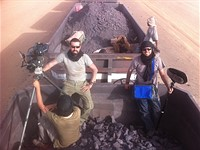 Behind the scenes: Shooting a documentary atop a moving train