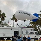 Miami Beach police use camera blimp to get around drone surveillance ban
