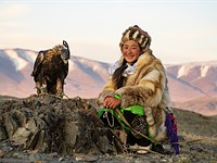 Michael Bonocore shoots Eagle hunters in Mongolia, with Sony a7R IV