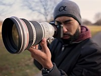 Video: Using the $5,700 Canon 200mm F2 on the Sony a7R III