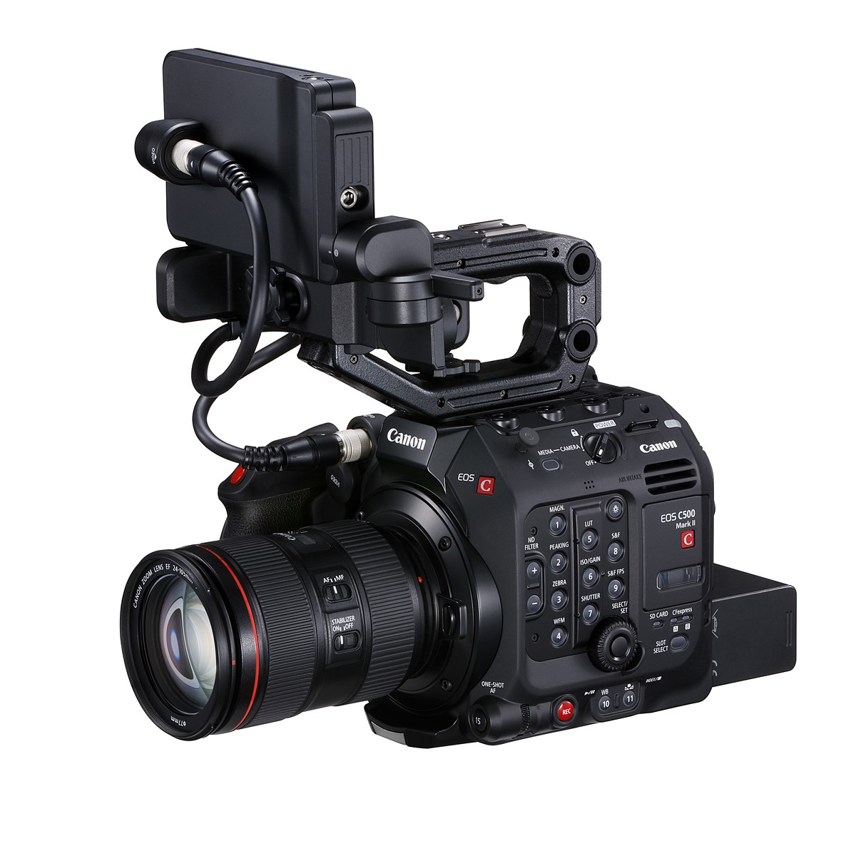 Canon announces C500 Mark II camera with 5 9K Cinema RAW