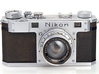 Oldest existing Nikon I camera goes up for auction with original lens and case