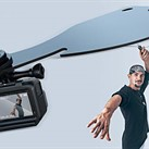 The Wingo Pro creates a bullet-time effect with your action cam