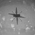 NASA's Ingenuity Mars helicopter transmits back the first image of its historic inaugural flight on Mars