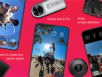 The Collect app brings 360-degree editing to your mobile device