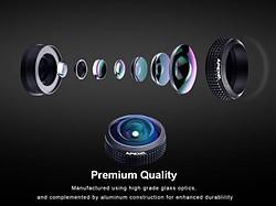 Quick review: Apexel 8mm fisheye lens for smartphones 3