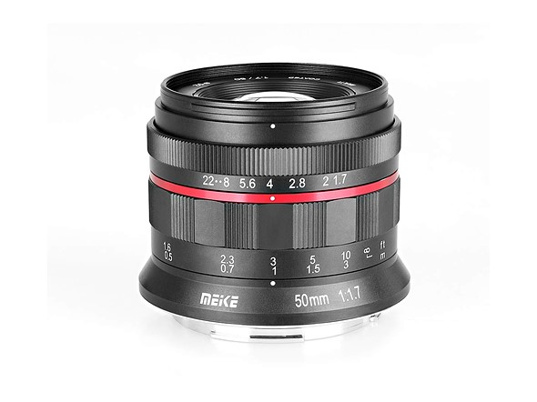 Meike releases 50mm F1 7 full-frame budget lens for Canon