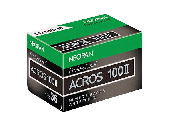 Fujifilm: NEOPAN 100 ACROS II, black-and-white film announced