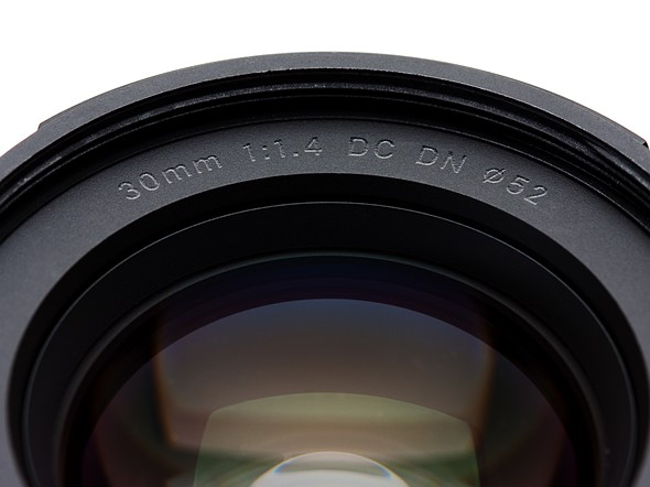 Sigma 30mm F1.4 DC DN Contemporary for Sony E-mount lens review 1