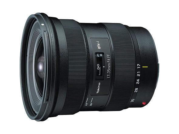 Tokina announces 17–35mm F4 lens for Canon EF, Nikon F camera systems