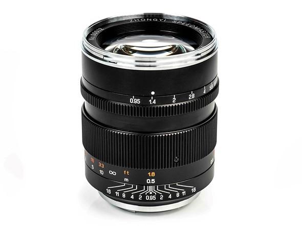 Mitakon Speedmaster 50mm F0.95 III lens launches with improved optics