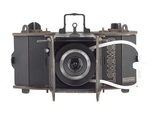 Lomography launches LomoMod No.1 DIY cardboard camera with a liquid-filled lens