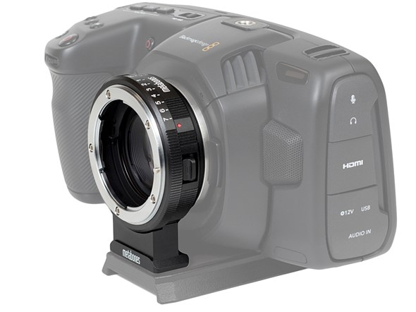 Metabones introduces Speed Booster series for Blackmagic Pocket