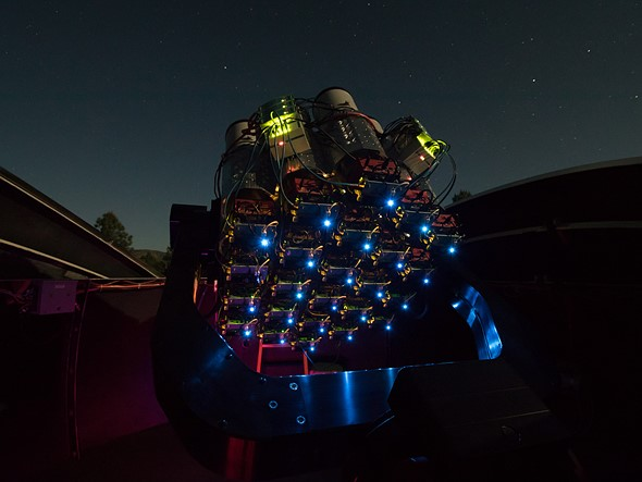 An array of Canon 400mm F2.8L II lenses is helping astronomers discover new galaxies 2