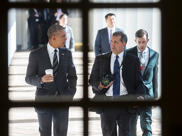 Pete Souza interview: 'I have the right to speak out when I see wrong. And I see wrong'