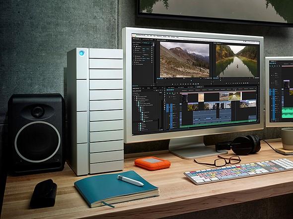 LaCie unveils Thunderbolt 3 desktop storage devices 1