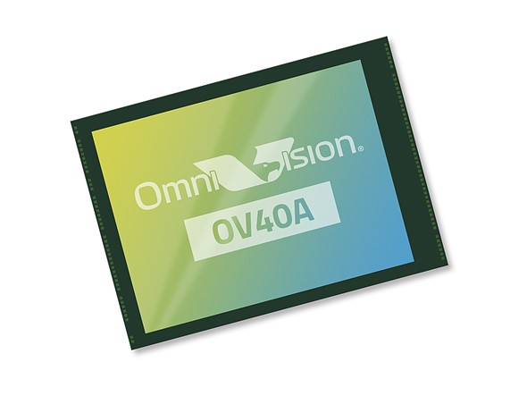 OmniVision releases 40MP smartphone sensor with 1.0 micron pixels, 256x gain and more