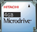 Hitachi confirm 2 and 4 GB Microdrive