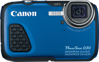 Waterproof Canon PowerShot D30 dives deep