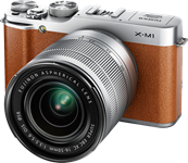 Fujifilm announces X-M1 mirrorless camera and XC 16-50mm OIS lens