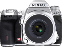 Pentax releases second silver K-5 limited edition, adding slimline 40mm F2.8