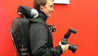 Stream your photos... via backpack?