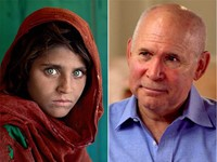 McCurry's famous 'Afghan girl' portrait almost never published