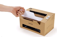Cardboard printers? Samsung concepts look to cheaper, sustainable future