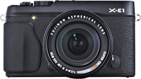 Fujifilm announces X-E1 16MP 'X-Trans' mid-level mirrorless camera