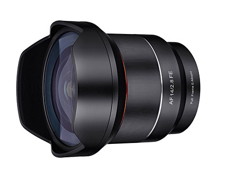 Samyang AF 14mm F2.8 for Sony E-mount set to ship in September 1