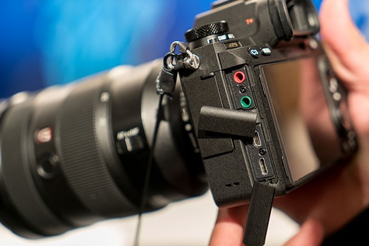 Hands-on with the Sony Alpha a9 9