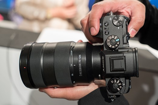 Hands-on with the Sony Alpha a9 3