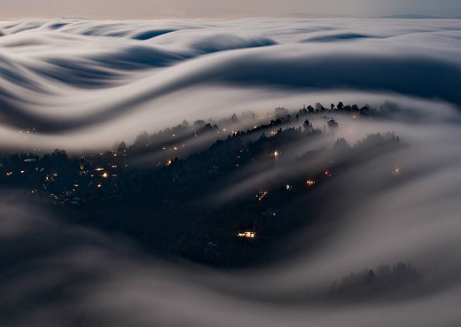 Fog waves: photographer Nick Steinberg captures nature in motion 7