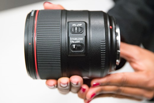 Hands-on with new Canon L-series primes 9